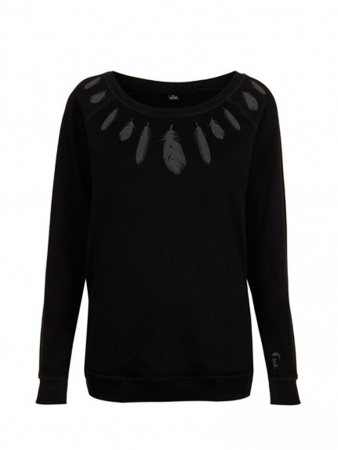 FEATHER WOMAN SWEATER